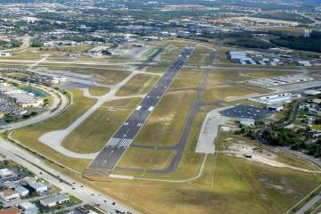 Page Field Airport in Fort Myers, Fla.