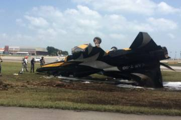 T50 crash 2018 Singapore Airshow