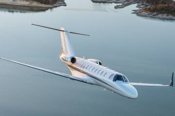 Atlas is now certified on Cessna Citation 525 and 525B jets.