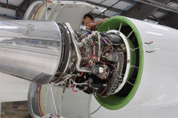 Technicians at Flying Colours facilities will have more space to perform, and there will be more of them to share the workload, as the company grows in employees and square footage.