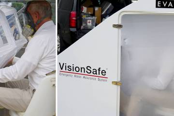 Long known for its EVAS cockpit smoke system, VisionSafe is now addressing onboard fires from lithium-ion battery-powered devices.