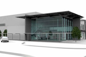 Wingspan's Chandler Airpark industrial hangars and office project