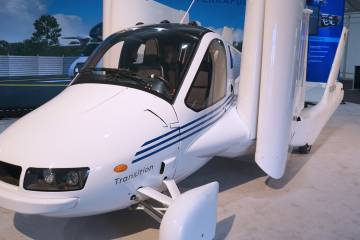 Massachusetts-based Terrafugia, with an influx of development cash from Chinese ownership, plans to begin building its Transition flying car as early as next year.