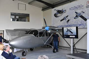 VoltAero iron bird test rig