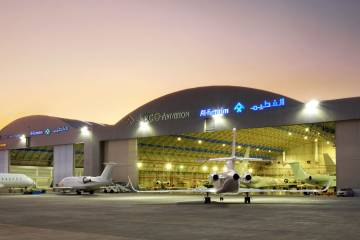 The number of new hangar clients is increasing rapidly for DC Aviation