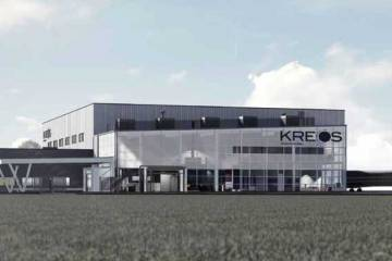 Artist rendering of the new Kreos Aviation at Regina Airport