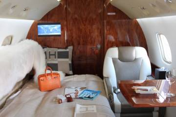 Legacy 600 cabin