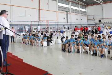 AsBAA Takes Off Event in Jet Aviation hangar
