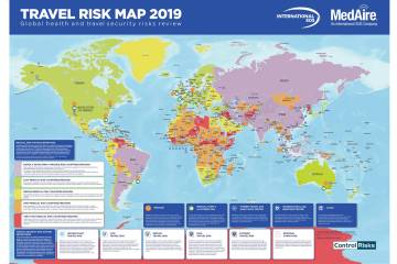 MedAire's Travel Risk Map