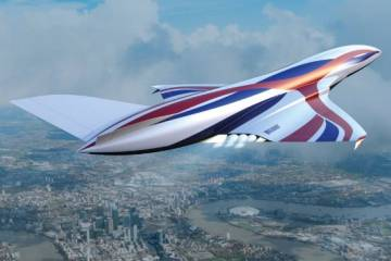 hypersonic aircraft concept