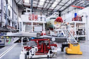 A320 production line