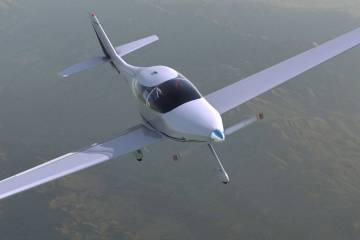 Bye Aerospace's eFlyer 4 aircraft