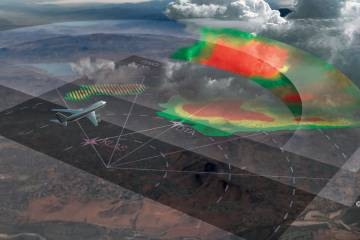 Honeywell's IntuVue weather radar systems offer a three-dimensional view of storms. The new RDR-7000 version is smaller and lighter, accommodating more aircraft models.