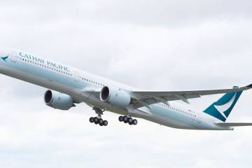 Cathay Airbus A350-1000