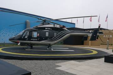 Aurus VVIP version of its Ansat helicopter