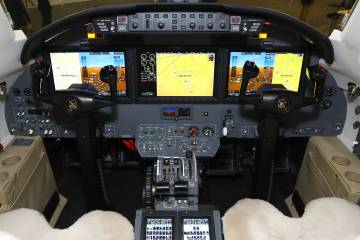 Elliott Aviation Garmin G5000 in Citation Excel/XLS