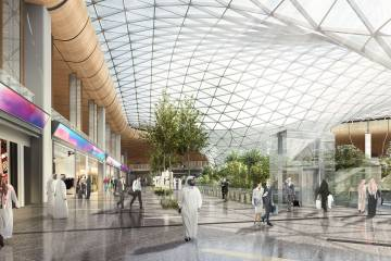 Part of Qatar's enhancement plans for Doha's Hamad International Airport include retail shopping