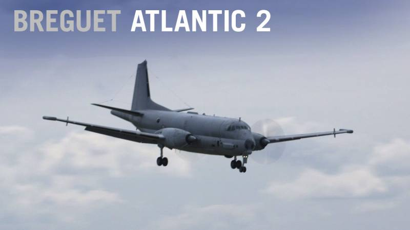 Breguet Atlantic 2 (ATL2) Flies at the Paris Air Show