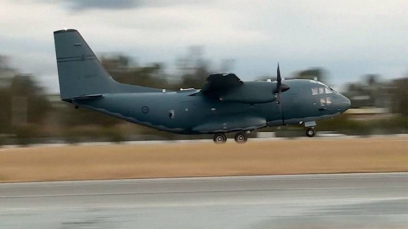 C-27J Spartan Military Airlifter to Deploy with Royal Australian Air Force