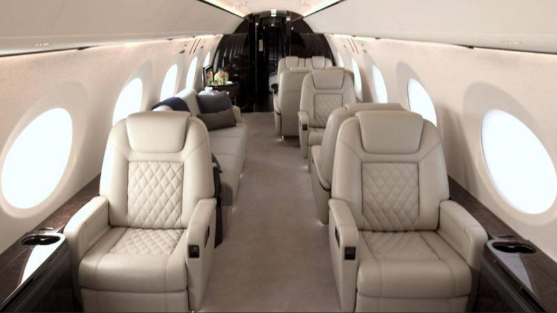 Gulfstream G500 with Full Production Interior Debuts at 2016 NBAA Show