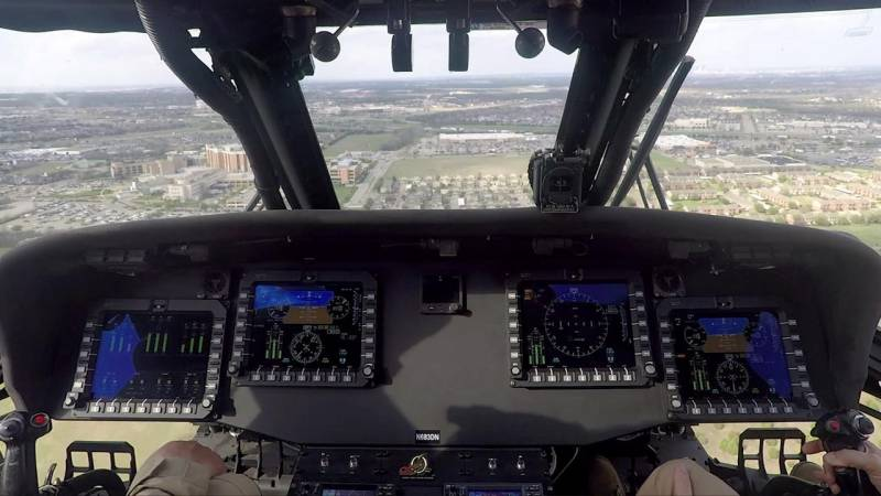 Aging Black Hawk Helicopters are Brought Into the Digital Age with All New Avionics