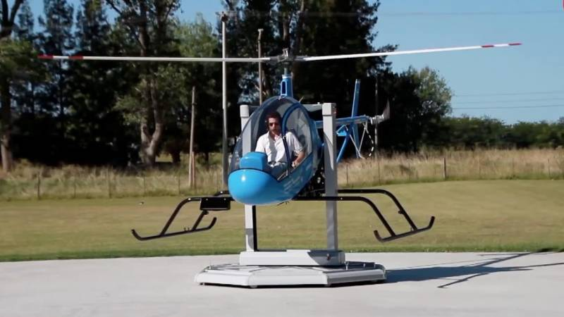 Small Argentine Helicopter Manufacturer Aims to Revolutionize Helicopter Training