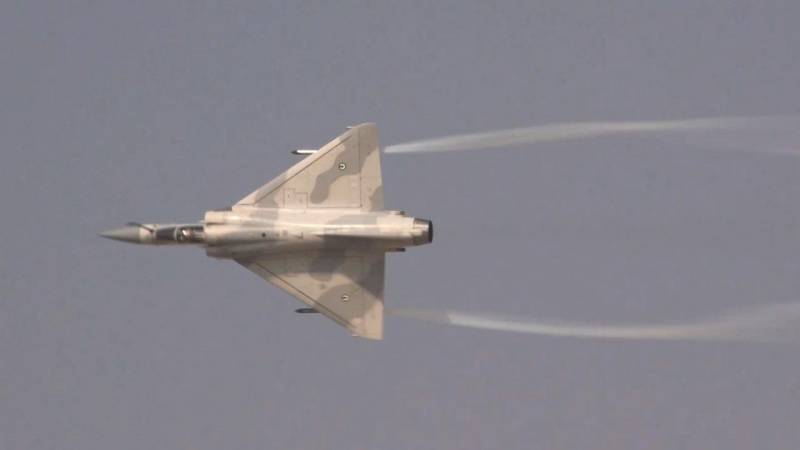 UAE Dassault Mirage 2000-9 Fighter Jet Flies at Dubai Airshow
