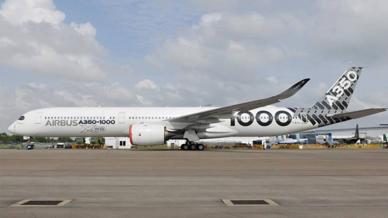 The Airbus A350-1000 Takes the Singapore Airshow Spotlight