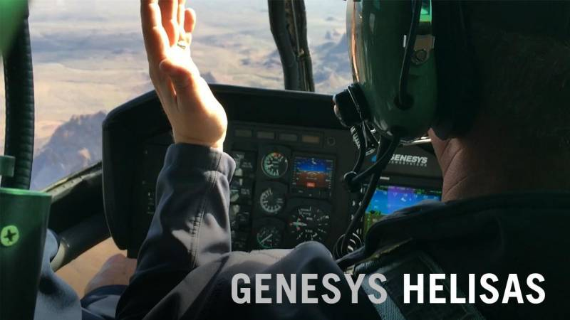 Hands Off Helicopter Flying with the Genesys HeliSAS