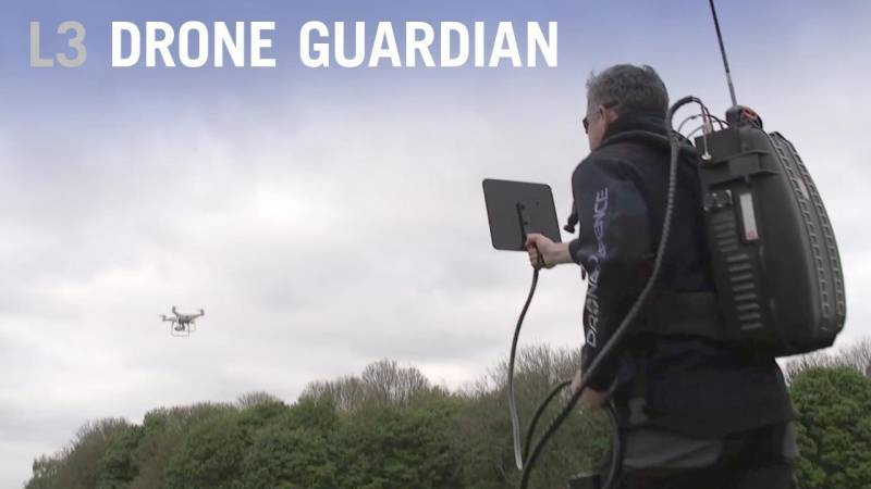 L3's Drone Guardian System to Fight Nefarious Drone Use