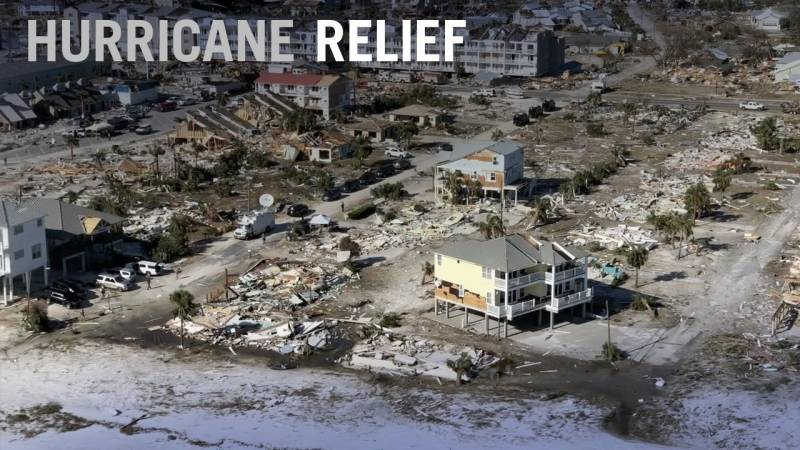 How Business Aviation Helps in Hurricane Relief