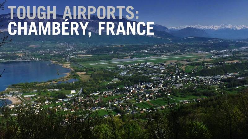 Flying into Tough Airports: Chambéry, France