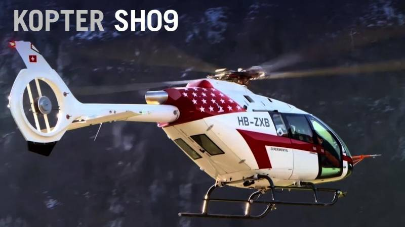 Kopter to Assemble SH09 Helicopter in Louisiana, USA