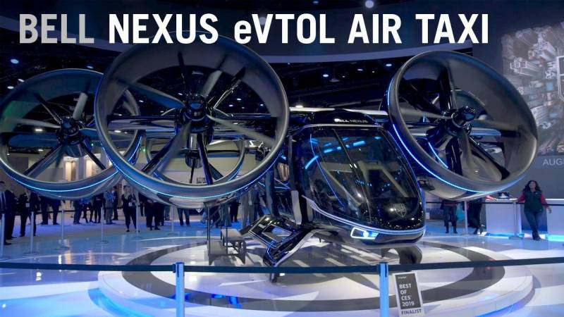 A deep dive into Bell's Nexus eVTOL Air Taxi Aircraft of the Future