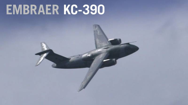 Embraer KC-390 Flying Display at Paris Air Show 2019