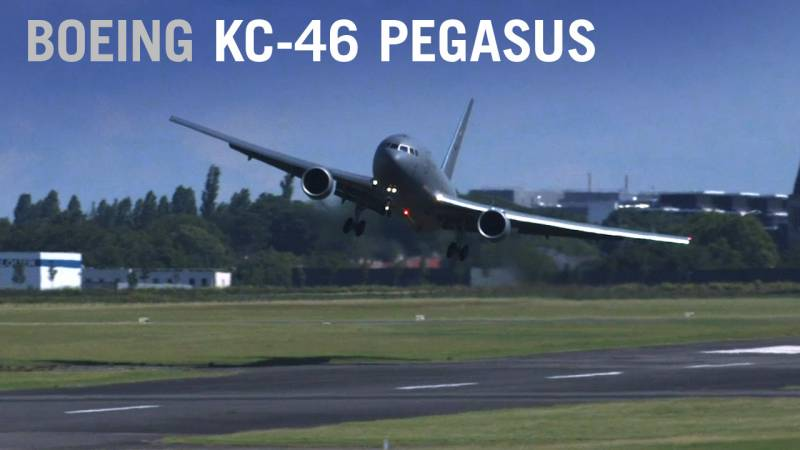 U.S. Air Force Boeing KC-46 Pegasus Makes Wild Landing at Paris Air Show 2019