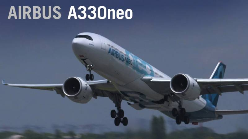 Airbus's A330neo Flies at Paris Air Show 2019