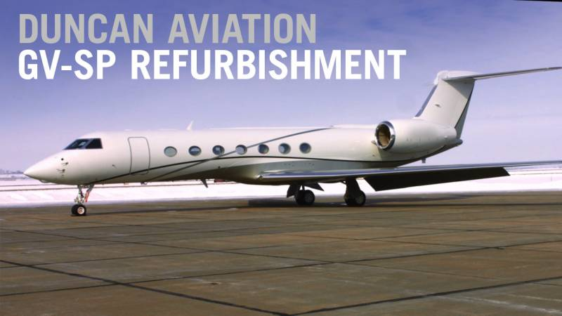Gulfstream GV-SP Transformation by Duncan Aviation