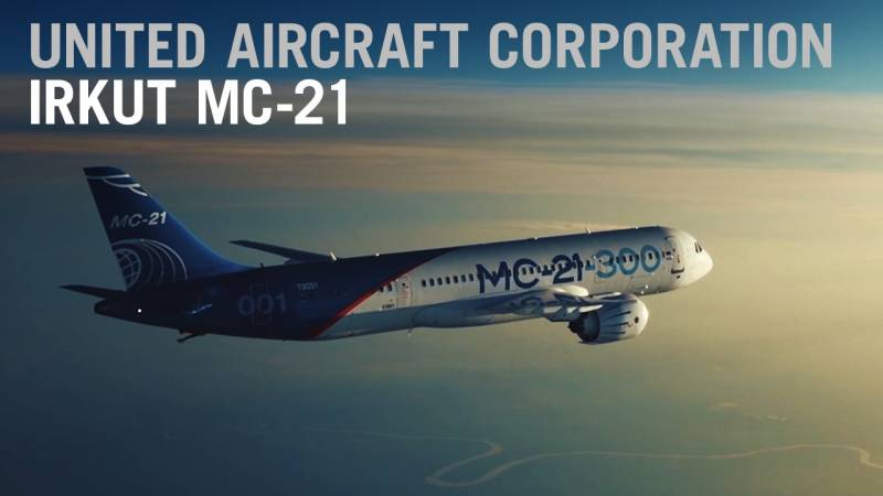 Russia's MC-21 Airliner Logs New Sales But Heads Into Sanctions Turbulence - AIN