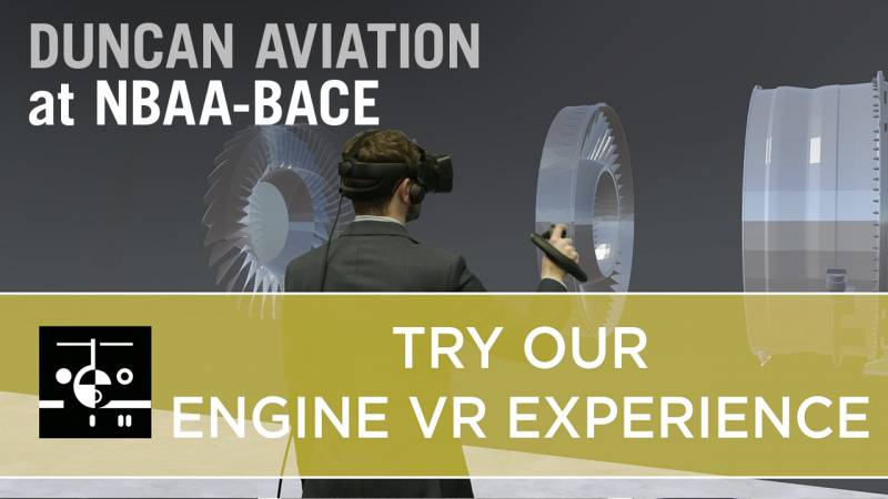 Duncan Aviation's Virtual Engine Experience. Unlike Any Other.
