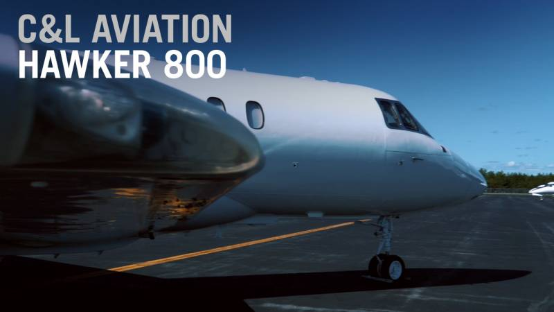 Watch This Hawker 800 Full Restoration - C&L Aviation Group