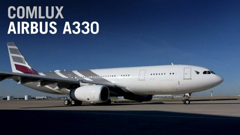 Comlux Completes Its First Wide-Body, an Airbus A330