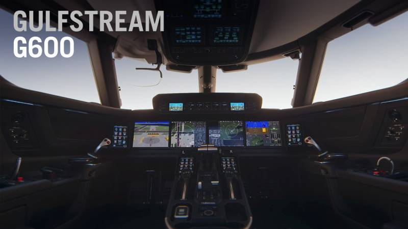 An Introduction to Gulfstream's G600 Touchscreen Symmetry Flight Deck - AIN