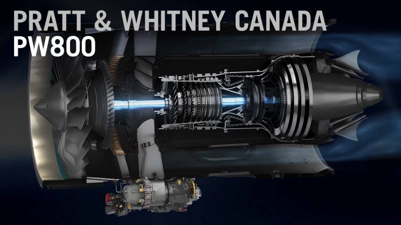 Pratt & Whitney's PW800 Engine - How it Works