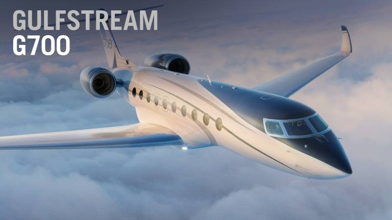 Gulfstream introduces the G700 as the new flagship of its business jet family - AIN