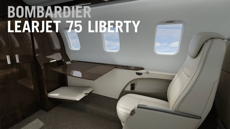Bombardier Reworks Learjet 75 to Boost Its Light Jet Appeal