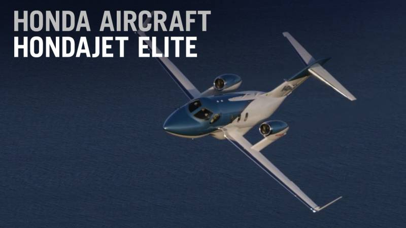 Flying the Improved HondaJet Elite