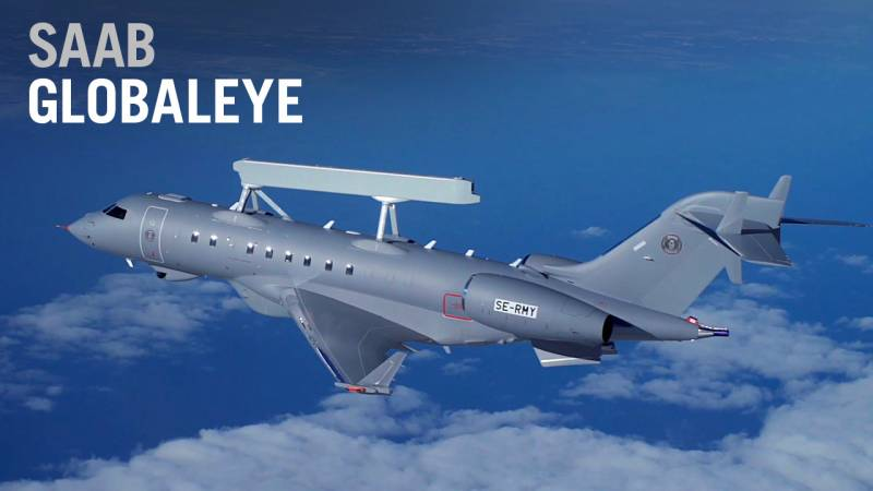 SAAB GlobalEye Surveillance Aircraft Debuts at Dubai Airshow, Based on Bombardier Global 6000 - AIN