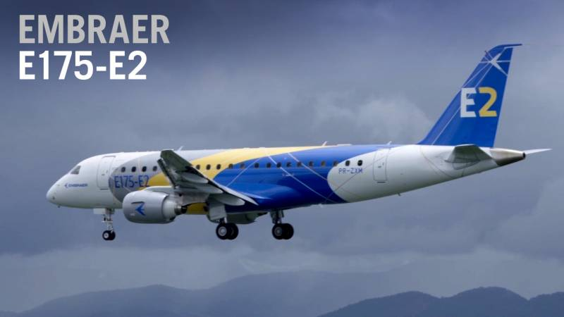 Embraer's E175-E2 Airliner Makes First Flight - AIN