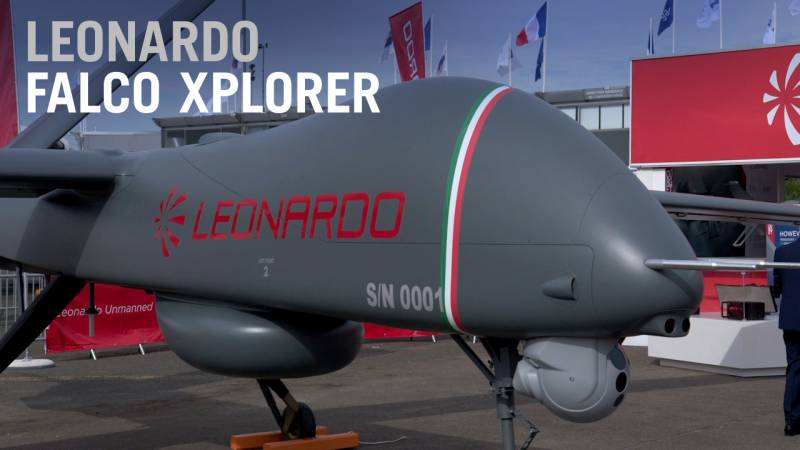 Leonardo's Falco Xplorer UAV Makes First Flight - AIN